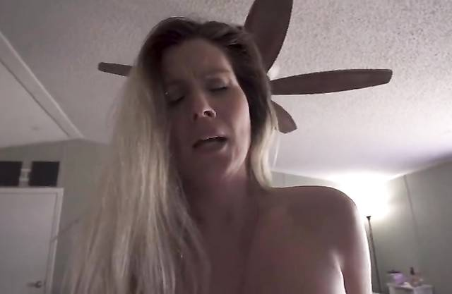 Son Blackmailed Mom and she rode incest guy's cock after blowjob