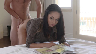 Hot Russian stepmom lets stepson use her pussy