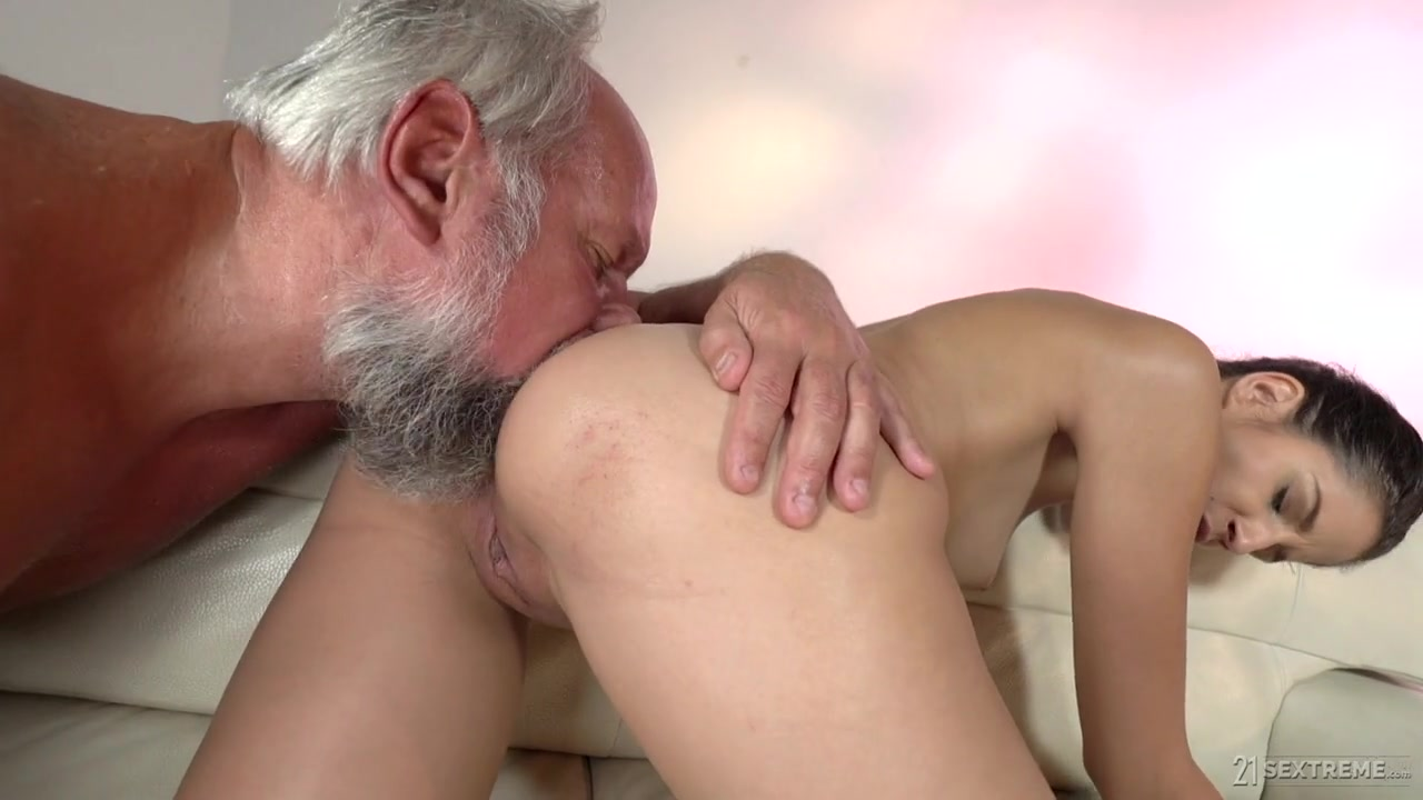 Grandfather Fucks Granddaughter In Young Cunt