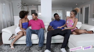 Sweet daughters agree to suck and be fucked by incest interested dads