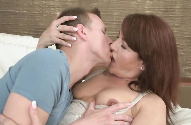Voluptuous Mom Loves Young Cock Own Som