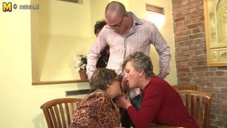 Granny grandma and granny fucked by young boy