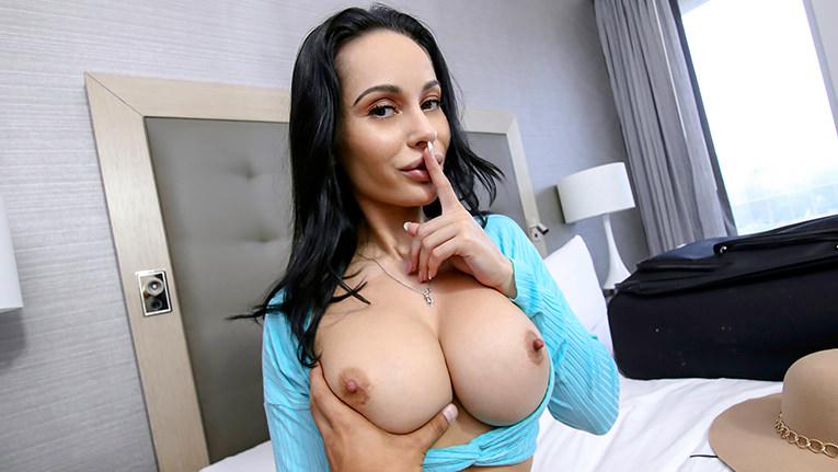 Big Tits Mom Cheating Son