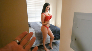 Finding mom masturbating son decides to score her in an incest way