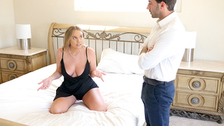 Incest fuck is a good punishment for daughter who breaks rules