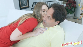 Man fucks daughter's best friend and she has incest sex with her dad