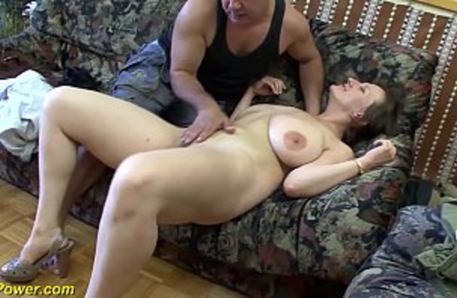 Mom with huge tits dragged into hard incest anal sex with impudent son