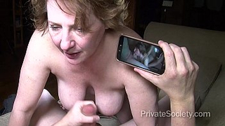 Filthy sex hungry mom fucked own son on his birthday