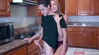 Magnificent sexy mom pity fucks her sad son! Real incest XXX