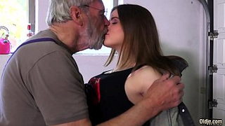 Grandpa fucks granddaughter cause she is drunk and won't remember incest