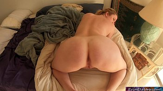 Naughty mom likes to get fucked doggy style by her depraved son