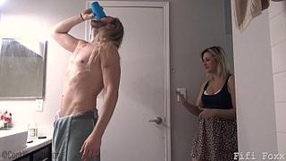 Mom Gives Son Viagra and Hard Fucks Him - Incest  sex