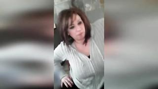 Gorgeous and Lewd Mom Sucks Own Son