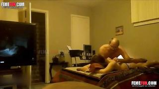 Bald dad fuck perfect daughter