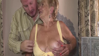 Big boob 79 years grandma gets rough fucked in all possible sex positions